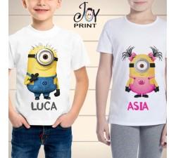 T Shirt bambino Minions