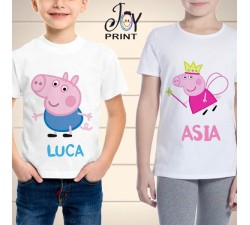 T Shirt bambino peppa pig