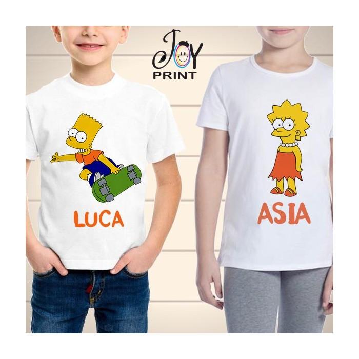 T Shirt bambino Simpson
