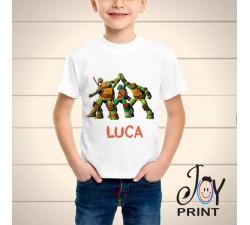 T Shirt bambino tartarughe ninja