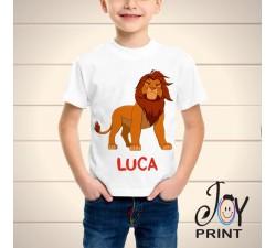 T Shirt bambino leone