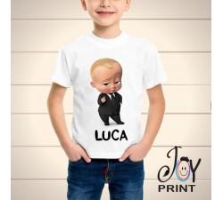T Shirt bambino Baby boss