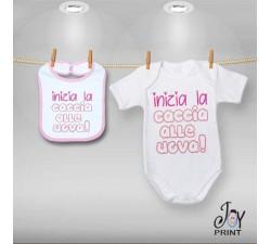 Coordinato Baby Caccia