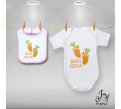 Coordinato Baby Carot