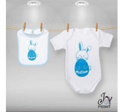 Coordinato Baby Eggs&Bunny