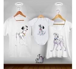 Tris T-shirt/body  Carica 101