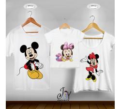 Tris T-shirt/body  Topolini