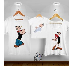 Tris T-shirt/body  Popeye