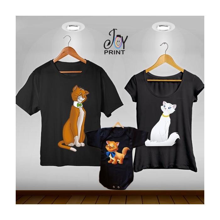 Tris T-shirt/body  Aristogatti