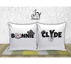 Coppia di cuscini  Personalizzata Love CRIMINAL