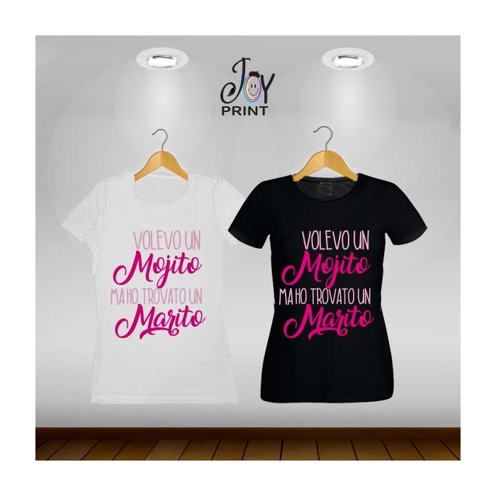 T-shirt Wedding Mojito no marito