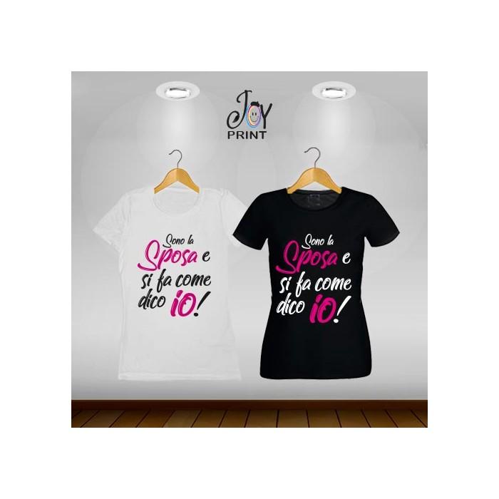 T-shirt Wedding Capo