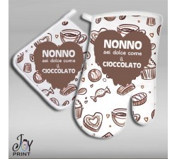Set Presina e Guantone chocolate