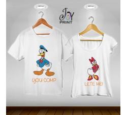 Coppia di tshirt Paperino