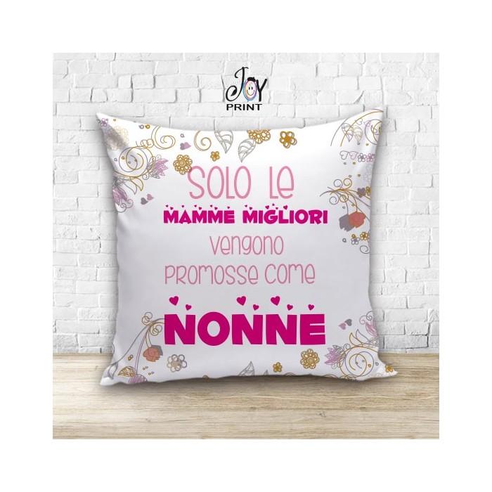 Cuscino Personalizzato idea regalo Festa dei nonni Migliori