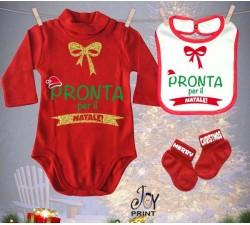 Tris Baby Natale Personalizzato Pronto Natale