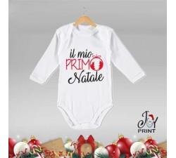 Body Neonato Personalizzato Natalizio Il mio Primo natale