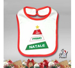 Bavetto Personalizzato Natalizio Primo Alberello