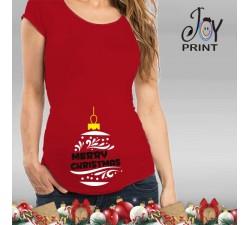 Maglia Premaman Personalizzata Christmas Ball