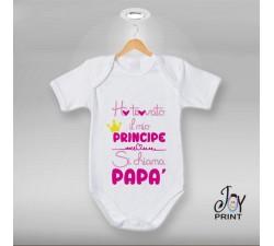 Body festa del papà Mio principe - idea regalo