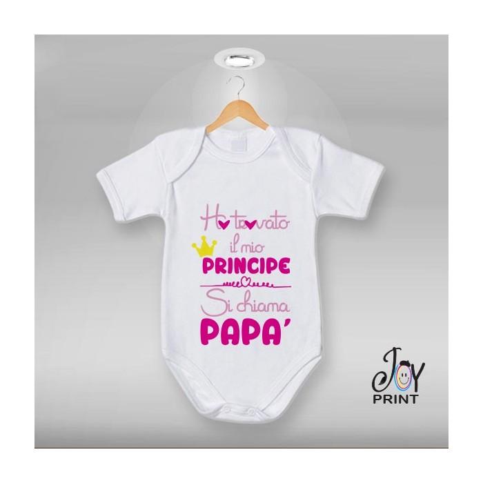 Body festa del papà Mio principe