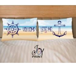 Coppia di federe Love SEA