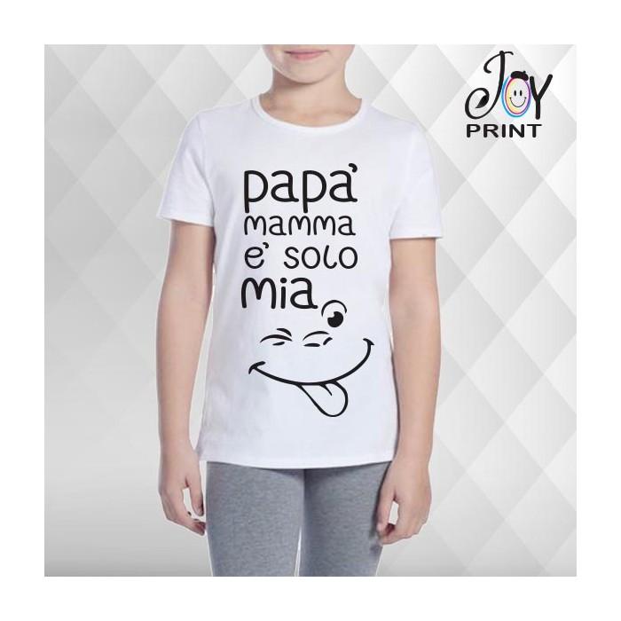 T Shirt bambino Festa della Mamma La Mamma è Mia