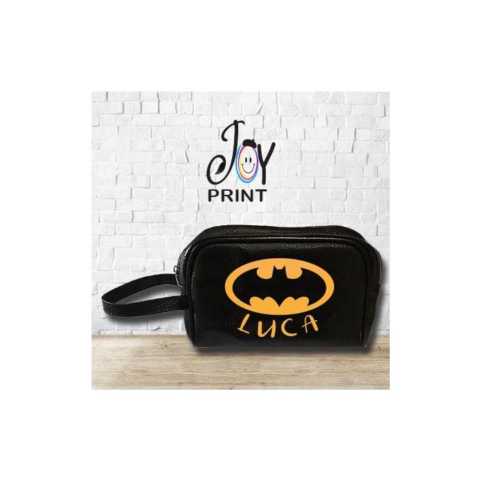 Pochette Uomo Personalizzata Con Nome Batman