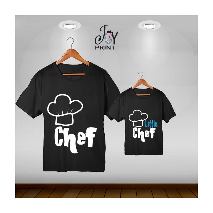 Coordinato festa del papà Chef nero