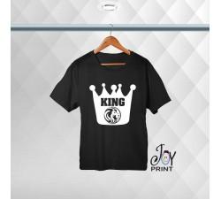 T-shirt Uomo Personalizzata Crown King