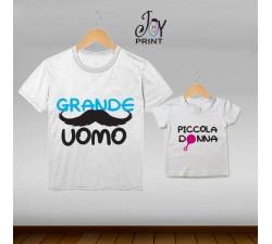 Coordinato t shirt festa del papà Generazione