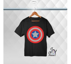 T-shirt uomo Personalizzata Capitan America