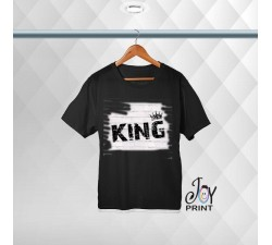 T-shirt uomo Personalizzata Murales King