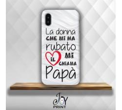 Cover Per Smartphone Festa del papà La donna del mio Cuore