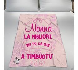 Plaid Personalizzato Festa dei Nonni Timbuctù
