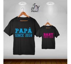 Coordinato festa del papà Since nero