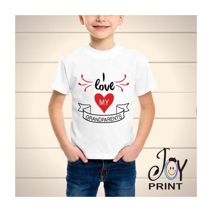 T Shirt bambino Festa dei Nonni Grandparents