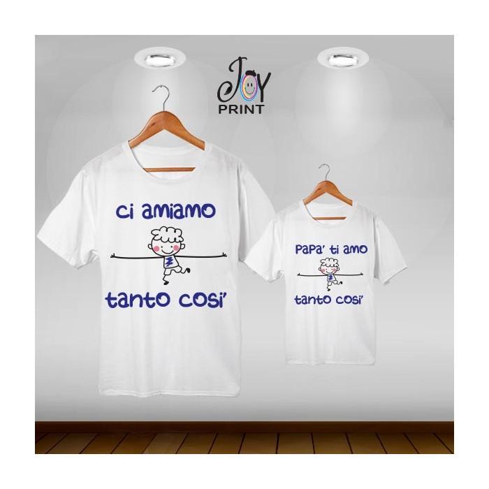 Coordinato Set T Shirt Festa Del Papà Sesso Maschietto Taglia