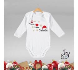 Body Neonato Personalizzato Natalizio Aria di Natale