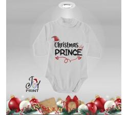 Body Lupetto Neonato Personalizzato Natalizio Christmas Royals Idea Regalo