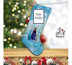 Calza Befana Personalizzata Con Foto Idea Regalo Frozen