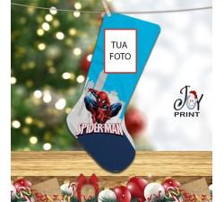 Calza Befana Personalizzata Con Foto Idea Regalo Spiderman
