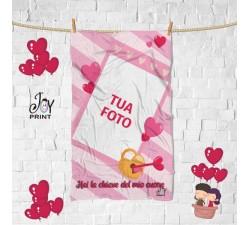 Plaid Personalizzato con Foto love CHIAVE PERFETTA