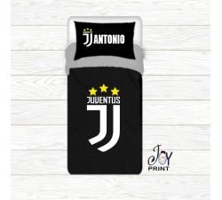 Copripiumino con federa personalizzata tifoso Juventus