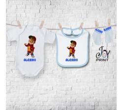 Set baby personalizzato Alvin