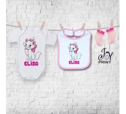 Set baby personalizzato Gattina
