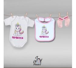 Set baby personalizzato Unicorn 2