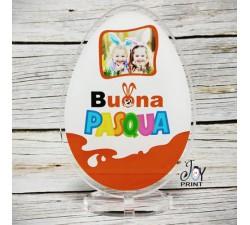 Cornice in plexiglass pasqua Uovo di cioccolato personalizzata con foto