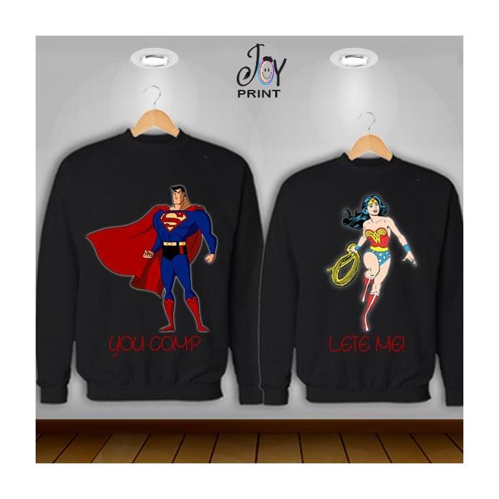 Coppia di felpe Superman  color