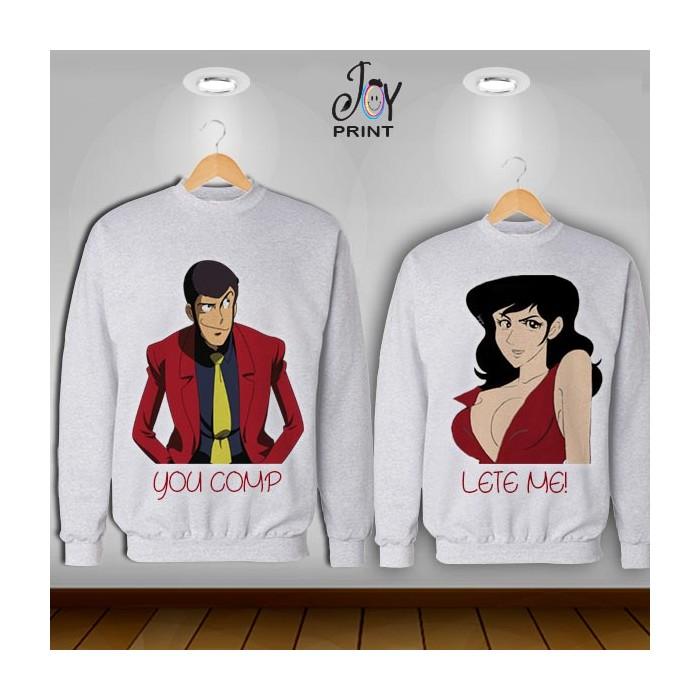 Coppia di felpe Lupin